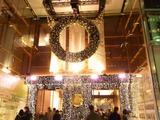 銀座マロニエゲートのクリスマスイルミネーション