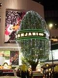 関ジャニのツリー緑