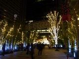東京ミッドタウンのクリスマスイルミネーション2010