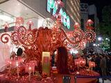 渋谷パルコのクリスマスイルミネーション2010