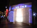 新宿タカシマヤのクリスマスイルミネーション2010