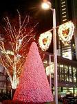 渋谷ハチ公前広場のクリスマスイルミネーション2005
