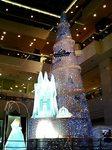 サンシャインシティのクリスマスイルミネーション2005