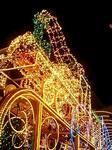 光る機関車「ファンタジア号」