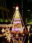 新宿野村ビルのクリスマスツリー2007
