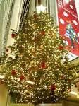 渋谷・東急本店のクリスマスツリー2007