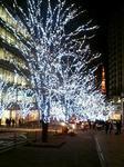 六本木ヒルズのクリスマスイルミネーション2007