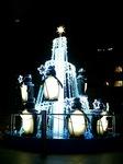 JR東日本本社ビル前のクリスマスイルミネーション2008