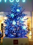 GAPのクリスマスツリー2008