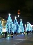 新宿サザンテラスのクリスマスイルミネーション2008