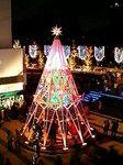 東京ミッドタウンのクリスマスイルミネーション2008