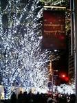六本木ヒルズのクリスマスイルミネーション2008