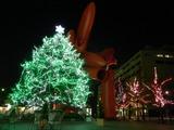 大手町駅周辺のクリスマスイルミネーション2009