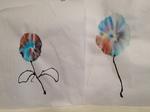 水性ペンの花